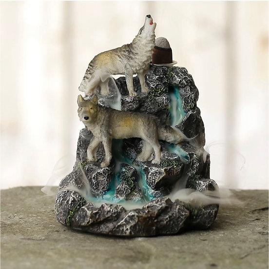 Wolf Mountain Backflow Incense Burner