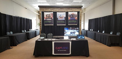 our expo booth