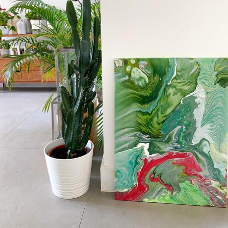 Evergreen 80cm x 60cm