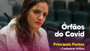 Marina Helou lança PL para crianças órfãos da covid-19