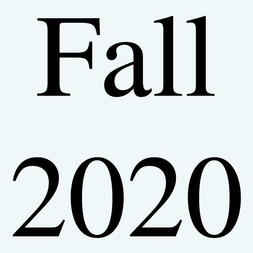 Fall 2020 Programming Forthcoming
