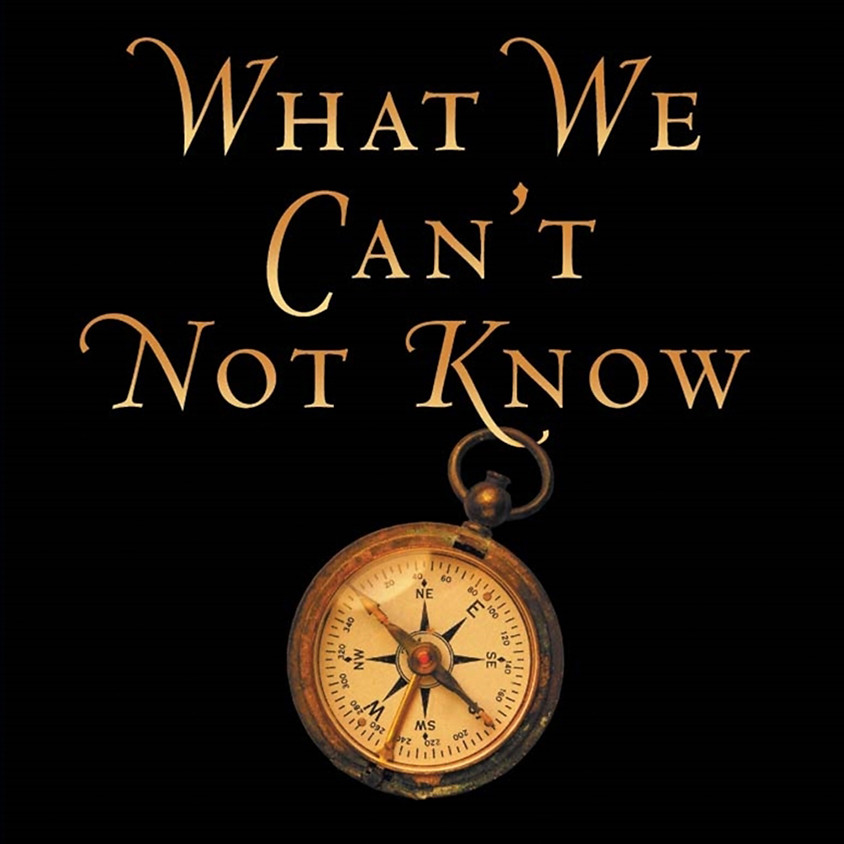 Reading Group: What We Can't Not Know