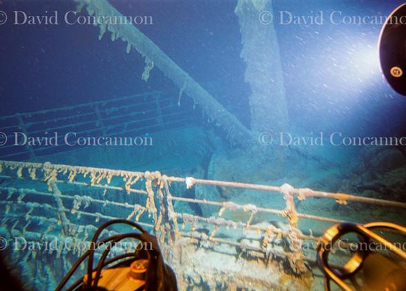 Proa del Titanic.