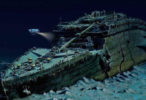 Estado actual del Titanic