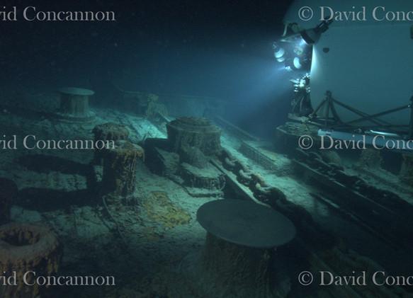Titanic en el lecho marino