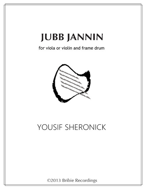 Jubb Jannin for Viola or Violin and Frame Drum - Sheet Music