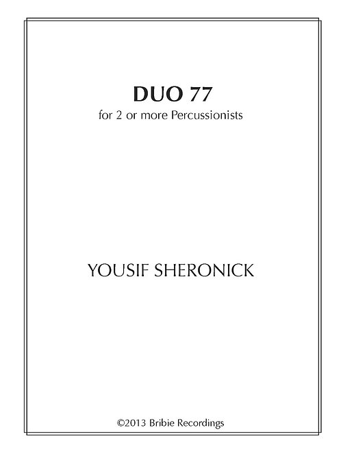 Duo 77 - Sheet Music