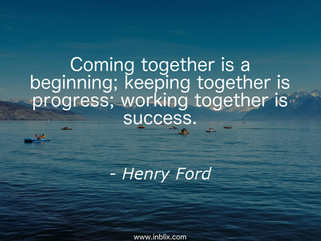 """""""Coming together is a beginning..."""""""
