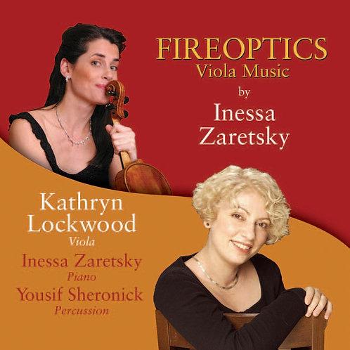 Fireoptics CD by Kathryn Lockwood