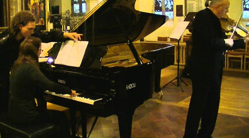 Sule Skerrie | Paul Silverthorne, viola and Aglaia Tarantino, piano