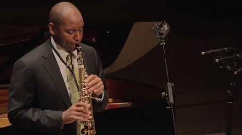 Branford Marsalis and Sally Beamish perform 'Albatross'