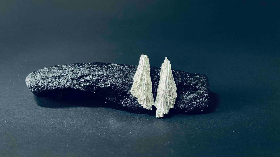 The Story of the Stone - Kyanite Earring 1