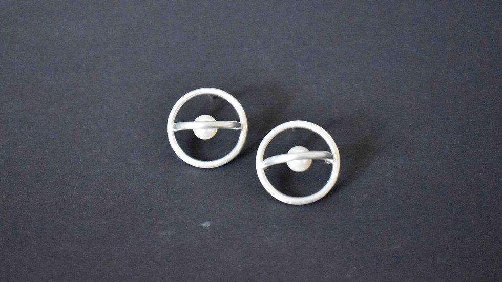 Saturn Earrings 2