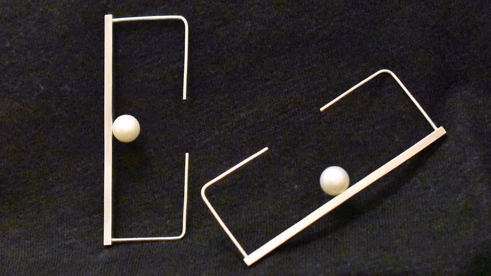 Pearl (Zyu1) Earrings 3A