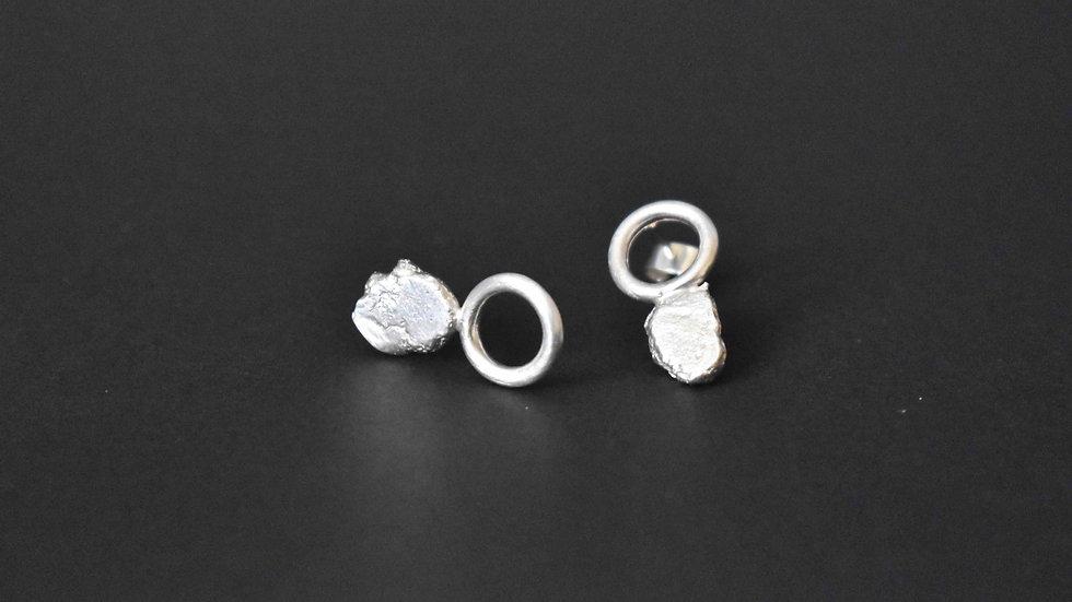Recycle Silver Earrings 4