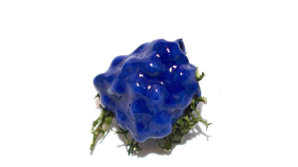 Egg Waffle Pin - Royal Blue