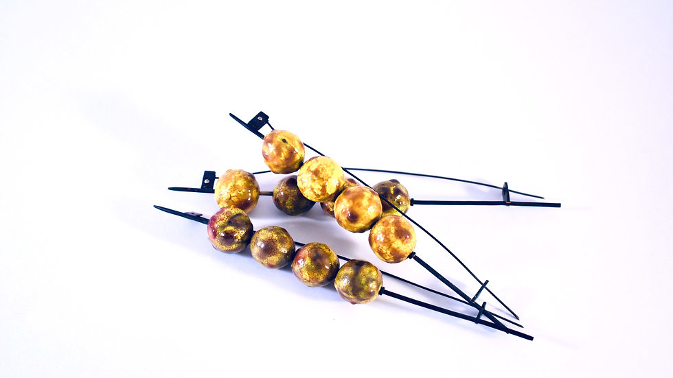 Fishball Brooch each - Sold Out