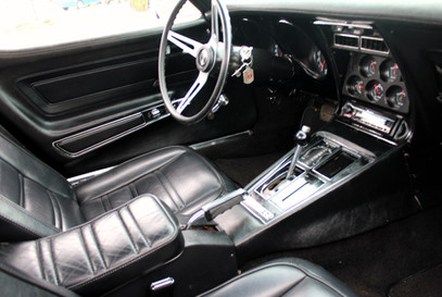 1973 Chevy Corvette interior