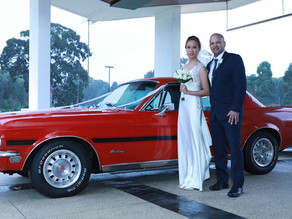 Don't be surprised if a classic car steals the show on your big day!