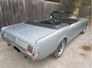 65 Mustang convertible rear view.png