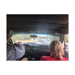 Classic car touring.