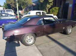 Chevrolet Camaro muscle car for hire in Melbourne