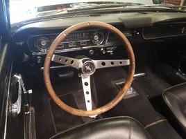 classical car rental interior.