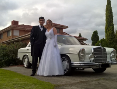 Mercedes Benz wedding cars Melbourne