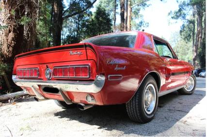 1968 Mustang car hire | Melbourne Classic Car Rentals