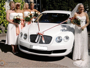 The Bentley is one of our most popular wedding cars