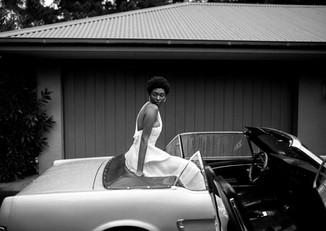 Mustang wedding car hire