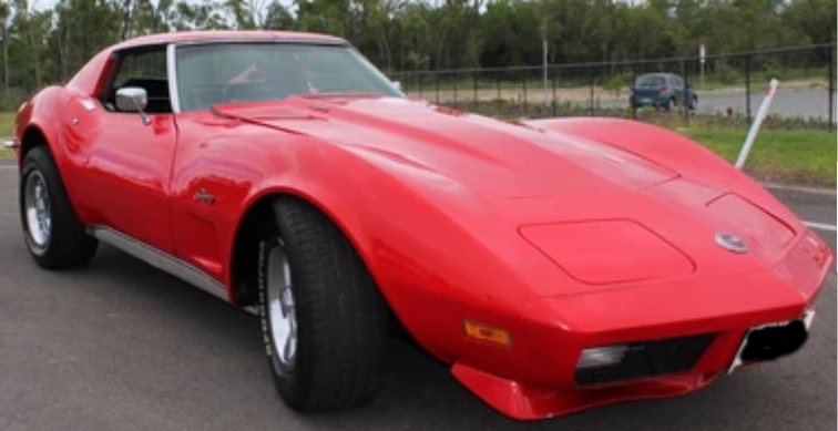 Classic 1973 Chevrolet Corvette for hire