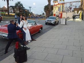 The 1962 Ford Galaxie Convertible makes a unique wedding car