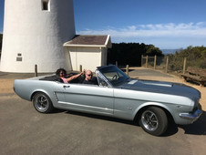 Melbourne Mustang convertible hire.
