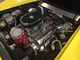 Engine bay 1972 Corvette Stingray