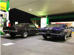 Classic Muscle Cars For Hire in Melbourn