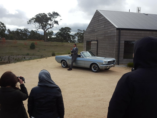 Mustang wedding cars Melbourne