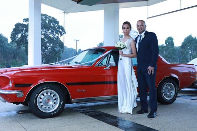 Melbourne wedding car hire