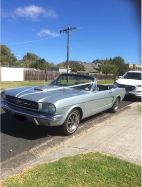 Mustang wedding hire Melbourne