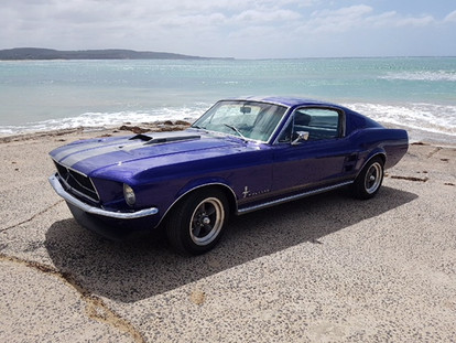 Hire this stunning 1967 Mustang Fastback to impress your friends in Melbourne