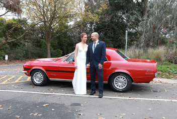 1968 Ford Mustang Fastback Special Edition for hire in Melbourne