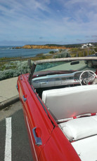 View from the Ford Galaxie.
