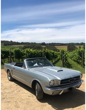 Hire a Mustang Convertible in Melbourne.