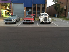 Pick your favourite classic car for hire