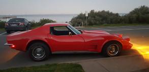 Corvette Muscle Car.