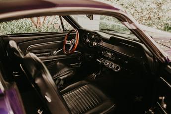 Mustang interior.