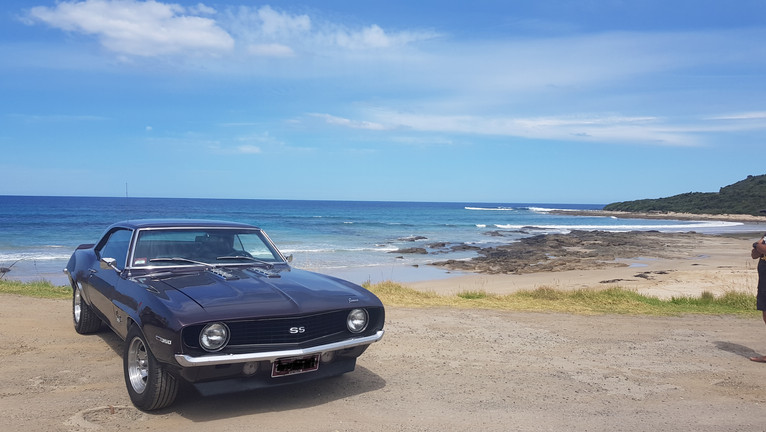 69 camaro om the beach.jpg