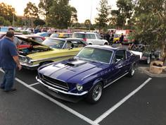 Classic Muscle car hire Melbourne.