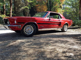 1968 Ford Mustang Fastback California Coupe for hire in Melbourne