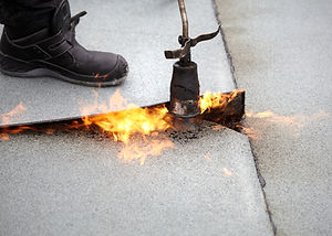 ferramentas com fogo